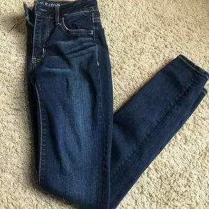 American Eagle, dark wash jeans